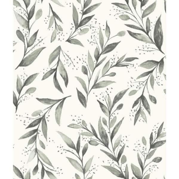 Magnolia Home By Joanna Gaines Olive Branch Spray And Stick Wallpaper Covers 56 Sq Ft Me1537 The Home Depot