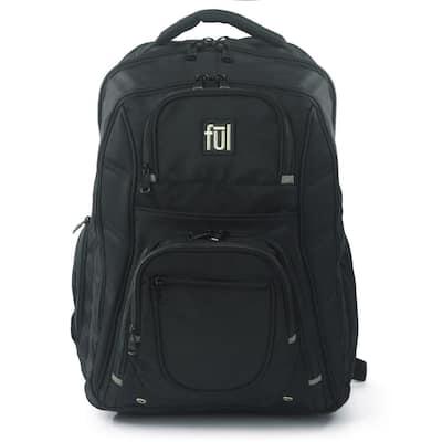 Rockwood 19 in. Black Laptop Backpack