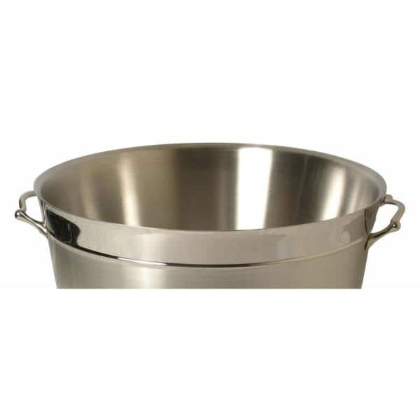 21 50 In Round Double Wall Beverage Tub Ds 7529 A The Home Depot