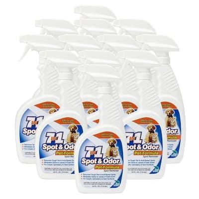 24 oz. Spot and Odor-Pet Formula Spot Remover Spray Bottle (12-Pack)