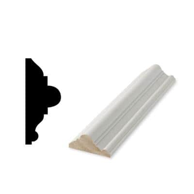 WP 300 1-1/16 in. x 3 in. x 96 in. Primed Finger-Jointed Chair Rail Moulding