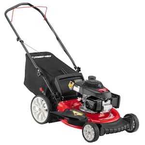 21 in. 160cc GCV Series Honda Engine 3-in-1 Gas Walk Behind Push Lawn Mower with High Rear Wheels