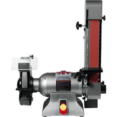 Combination 8 in. Industrial Grinder and 2 in. x 48 in. Belt Sander 1 HP 115-Volt, IBGB-248