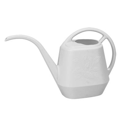 Aqua Rite 144 oz. Casper White Plastic Watering Can