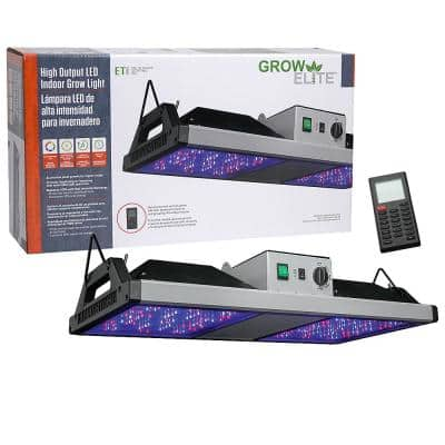 Grow Elite 2 ft. Integrated LED Indoor Grow Light with Remote Control High Output 500-Watt Full Spectrum