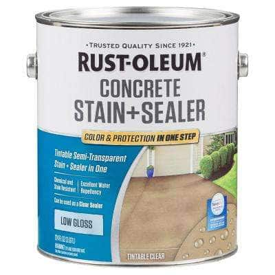 1 -gal. Clear Low Gloss Concrete Water Repellent Sealer (2 Pack)