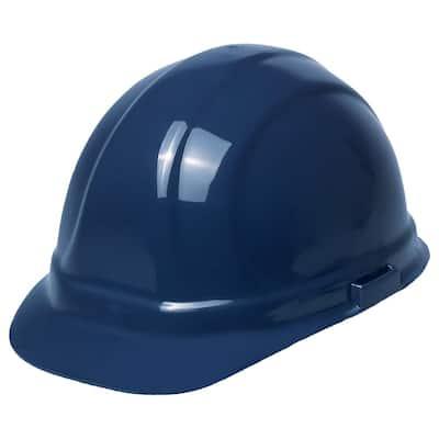 Omega II 6 Point Suspension Nylon Mega Ratchet Cap Hard Hat in Dark Blue
