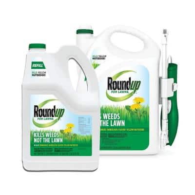 Roundup for Lawns Northern 1.33 Gal. Ready-to-Use Continuous Spray Wand and Refill Bundle