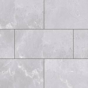 Bexar Marble 12 in. W x 23.82 in. L Luxury Vinyl Plank Flooring (23.82 sq. ft.)