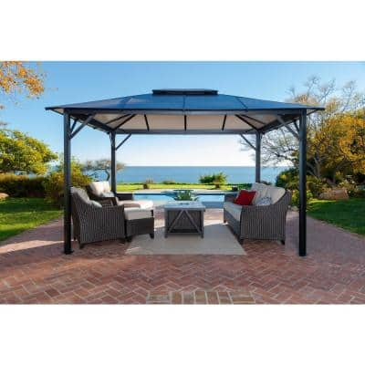 Paragon-Outdoor 11 ft. x 13 ft. Bermuda Hard Top Gazebo