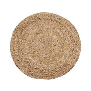 15 in. Natural Round Placemats