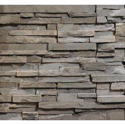 Dakota ProStack Lite Flats 2 in. to 8 in. x 6 in. x 20 in. Manufactured Stone Lite Flat 10 sf. ft. Pack