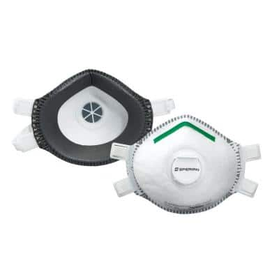 Safety Wear P100 Deluxe Disposable Respirator