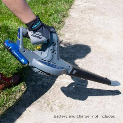 20-Volt 134 MPH 270 CFM Lithium-Ion Cordless Handheld Leaf Blower with Ultra Low Tone (Tool-Only)