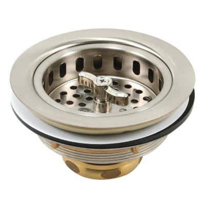 Basket Strainer Assembly, with Stainless Steel Basket