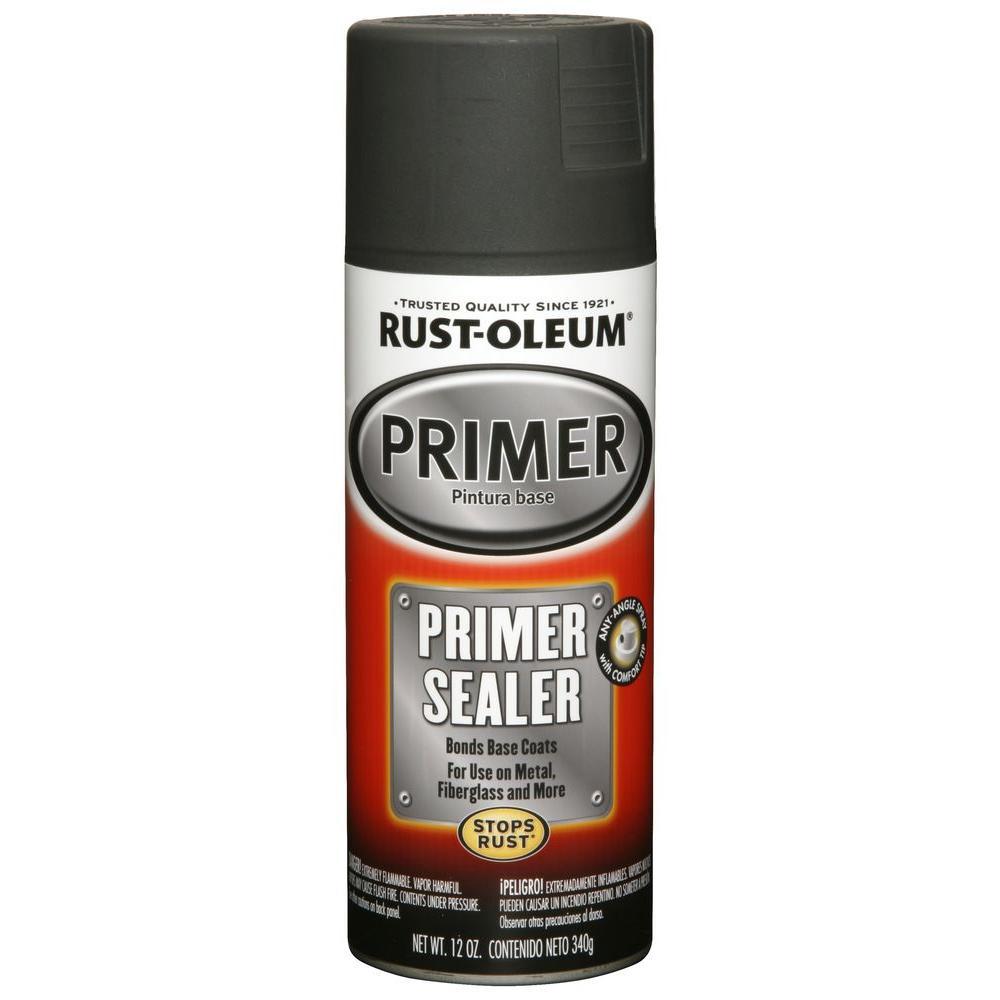 12 oz. Light Gray Primer Sealer Spray (6-Pack)