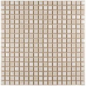 Rustica Mini Glacier 12 in. x 12 in. x 8 mm Porcelain Mosaic Tile