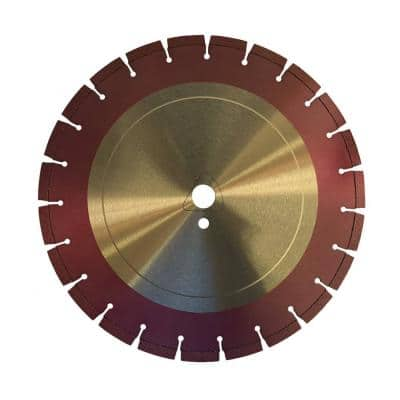 12 in. Green Concrete Diamond Saw Blade for Early Entry Cutting - Ultra Soft Bond