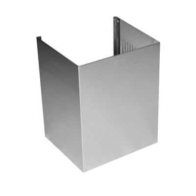 """ZLINE 2-12"""" Short Chimney Pieces for 7.7 ft. to 8 ft. Ceilings (SK-587/597)"""