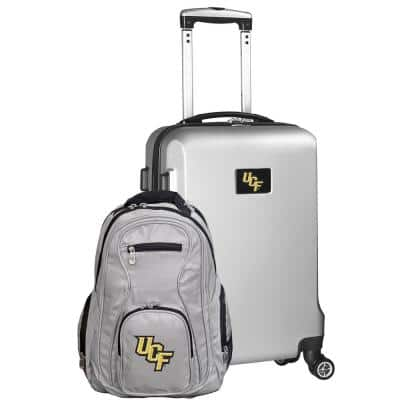 Central Florida Golden Knights Deluxe 2-Piece Backpack and Carry on Set