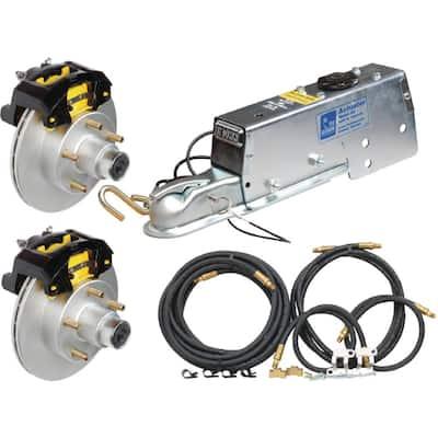 Eliminator Vented Rotor 10 in. Disc Brake Complete Kit