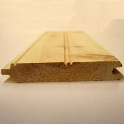 1 in. x 6 in. x 8 ft. Pine Board Pattern Tongue and Groove