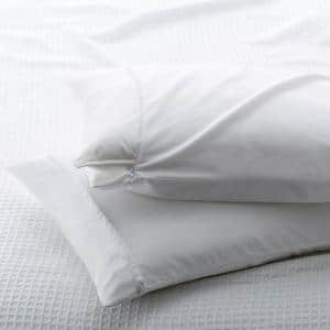 300-Thread Count Cotton Sateen Queen Pillow Protector