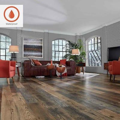 Outlast+ 6.14 in. W Honeysuckle Oak Waterproof Laminate Wood Flooring (451.36 sq. ft./pallet)
