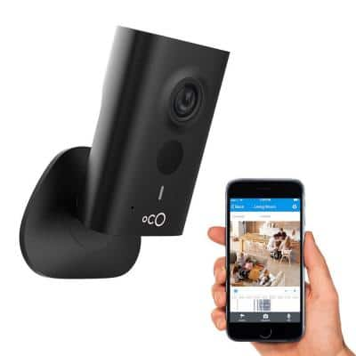 HD 960p Indoor Video Surveillance Security Camera with SD Card, Cloud Storage, 2-Way Audio and Remote Viewing