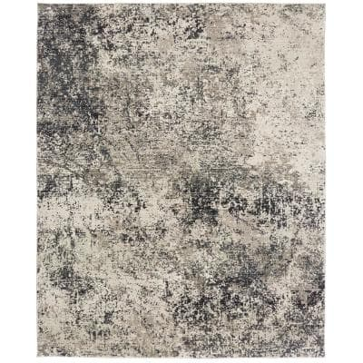 Flax and Graphite 9 ft. x 12 ft. Area Rug