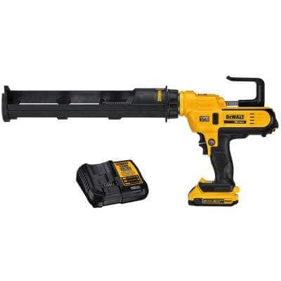 20-Volt MAX Cordless 29 oz / 600 ml Adhesive Gun with (1) 20-Volt 2.0Ah Battery & Charger