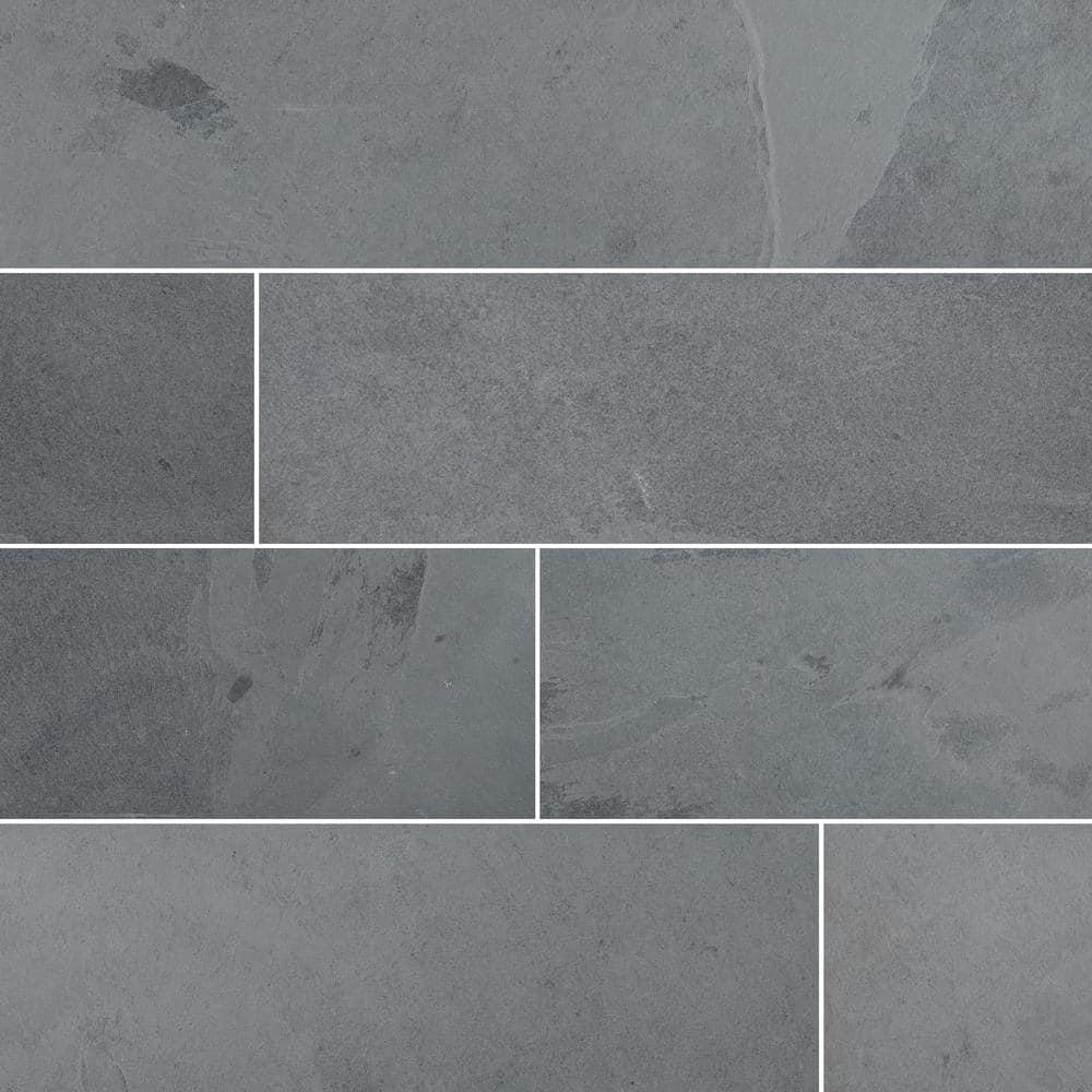 Gauged Slate Floor And