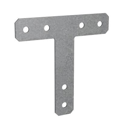 HT 12 in. x 12 in. 7-Gauge Hot-Dip Galvanized Heavy T Strap