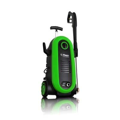 POWER 2200 PSI 1.76 GPM Electric Pressure Washer in Green