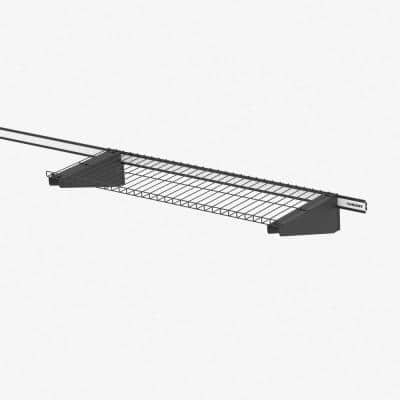 Slat Wall and Track 28 in. Wire Shelf