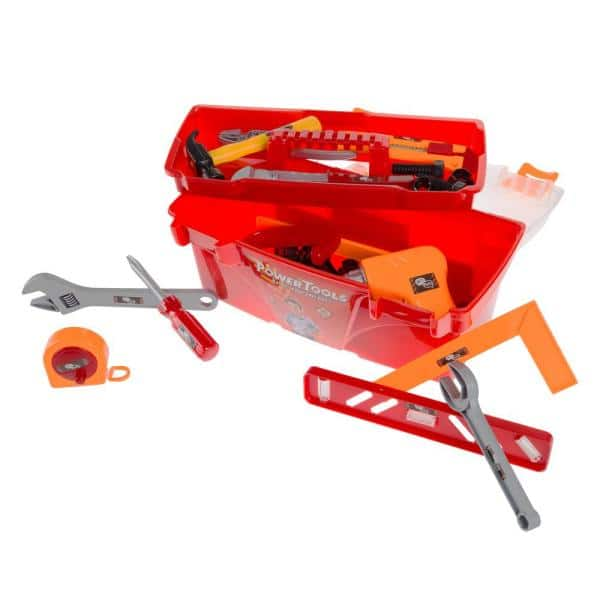Hey! Play! 12-Piece Toy Tool Box Set-HW12 - The Home Depot