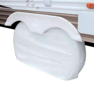 OverDrive RV 74 in. L x 8 in. W x 34 in. H Dual Axle Wheel Cover