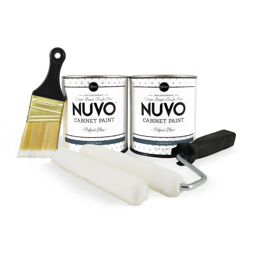 NuVo 2-qt. Oxford Blue Cabinet Paint Kit