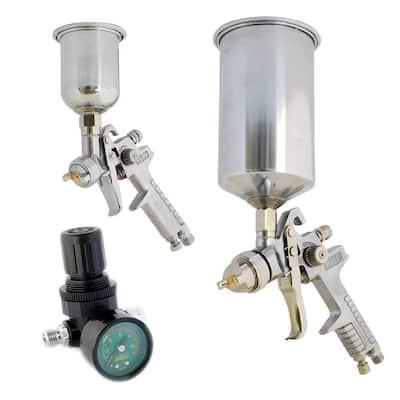 HVLP Gravity Feed Spray Gun Kit