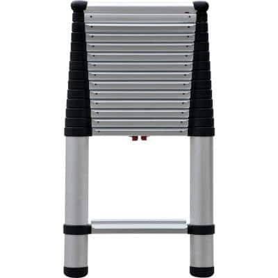 14 ft. Aluminum Extension Ladder with 300 lbs. Load Capacity Type IA Duty Rating