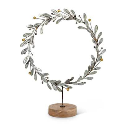 14.50 in. H Metal Star Wreath