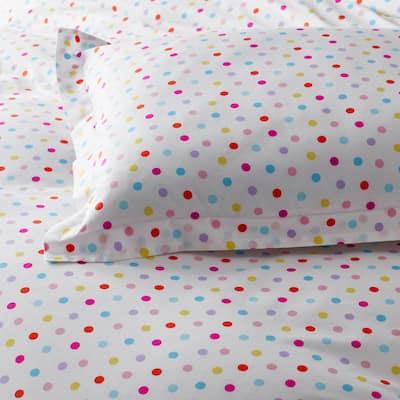 Company Kids™ Multi Dots Organic Cotton Percale Comforter Set