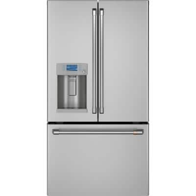 22.2 cu. ft. Smart French Door Refrigerator in Stainless Steel, Counter Depth and ENERGY STAR