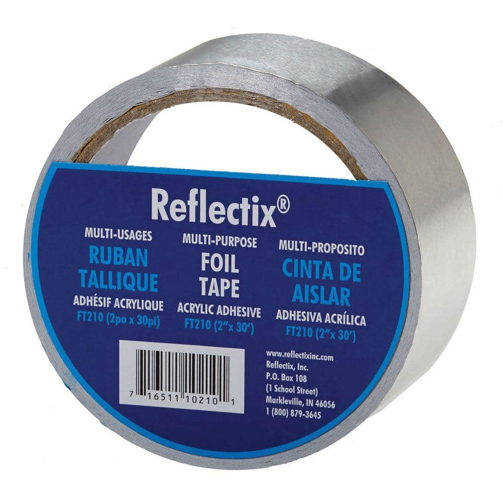 Universal 2x 400 Self Adhesive Reflective Gold Heat Wrap Tape Continuous Roll High Temp Shield Reflective