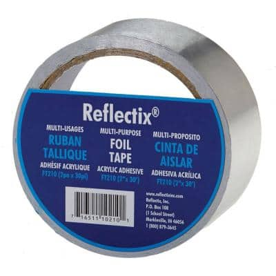 2 in. x 30 ft. Reflective Foil Tape
