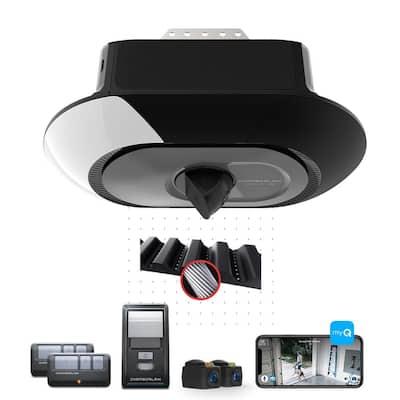 3/4 HP LED Video Quiet Belt Drive Garage Door Opener with Integrated Camera