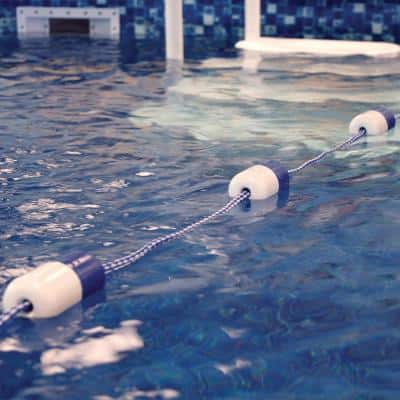25 ft. Safety Rope Line Kit for Swimming Pools