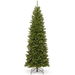 7 ft. North Valley Spruce Pencil Slim Artificial Christmas Tree
