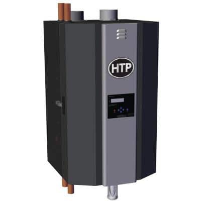 Elite FT High Efficiency Natural Gas Condensing Heating Boiler with 80,000 BTU Input