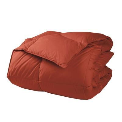 LaCrosse Medium Warmth Russet King Down Comforter
